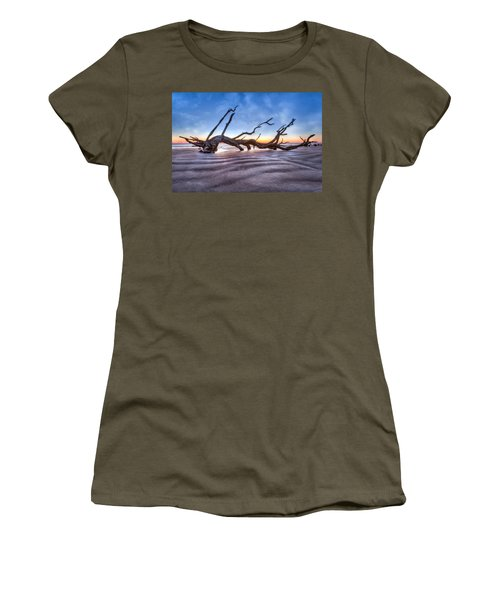 Waves In The Sand Women's T-Shirt