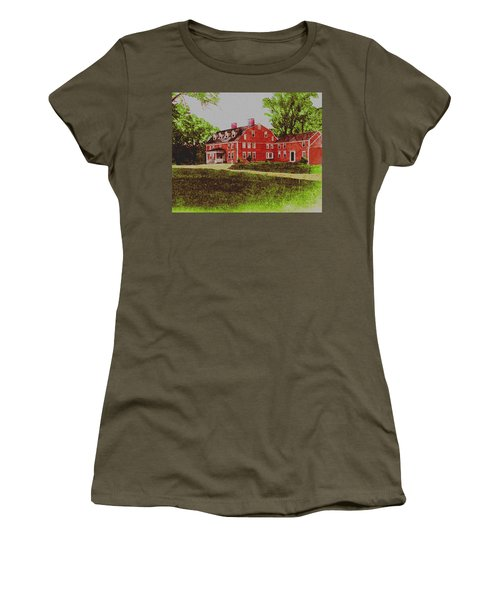 Wayside Inn 1875 Women's T-Shirt (Athletic Fit)