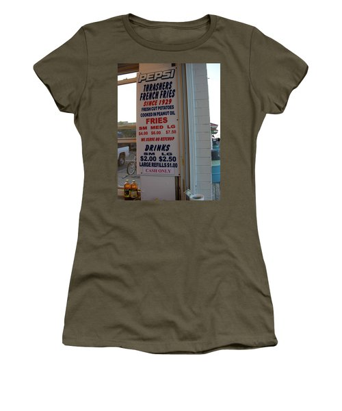 We Serve No Ketchup Women's T-Shirt