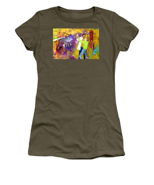 We Tangoed On The Piazza Navono Women's T-Shirt