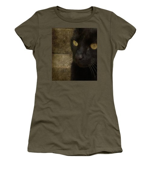 Women's T-Shirt (Junior Cut) featuring the photograph Wee Sybil  by Paul Lovering
