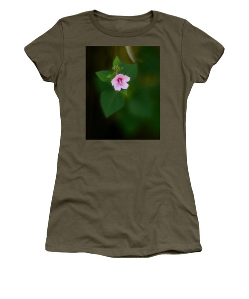 Weed Flower 907 Women's T-Shirt (Athletic Fit)