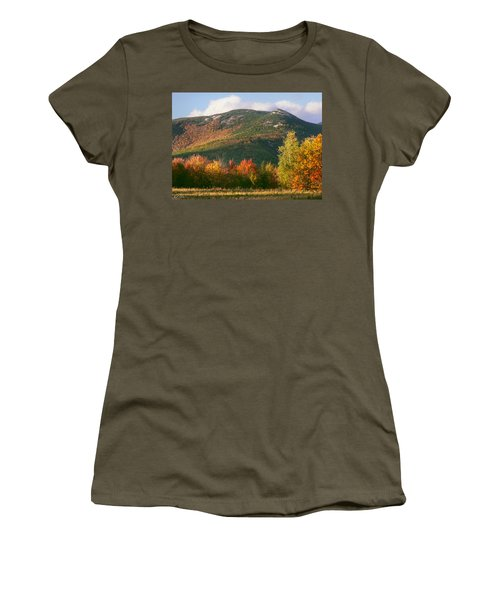 Welch And Dickey Mountains Women's T-Shirt (Junior Cut) by Nancy Griswold