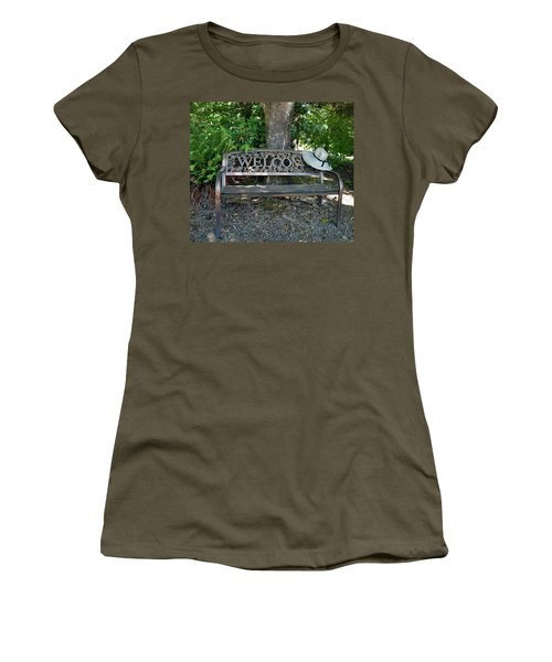 Women's T-Shirt (Athletic Fit) featuring the photograph Welcoming Hat by Jean Noren
