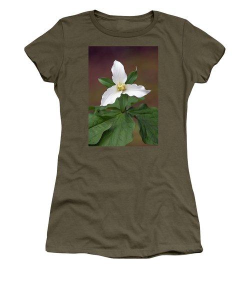 Western Trillium Women's T-Shirt (Athletic Fit)
