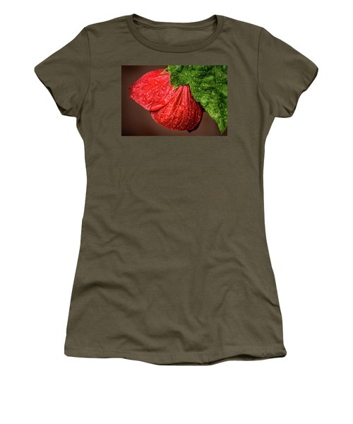 Wet Flower-abutilon Women's T-Shirt