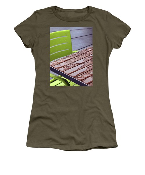 Wet Table Women's T-Shirt (Junior Cut) by Christopher McKenzie