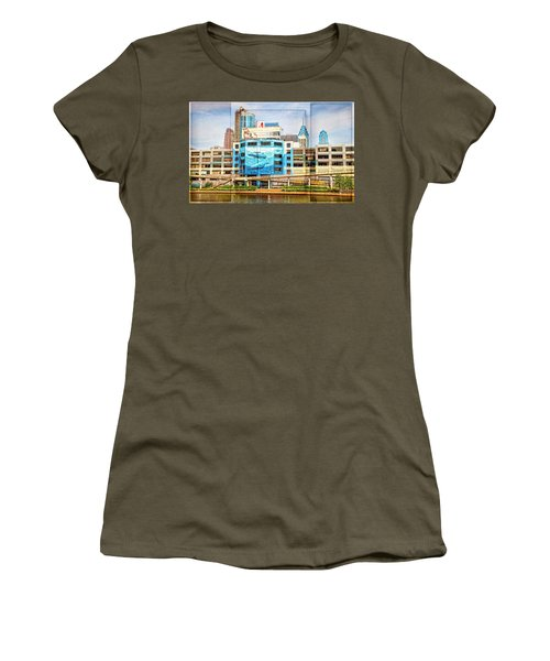 Whales In The City Women's T-Shirt