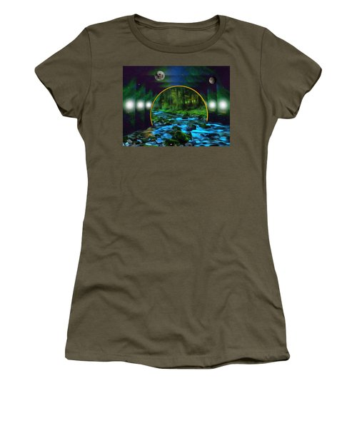 Whare Peaceful Waters Flow Women's T-Shirt
