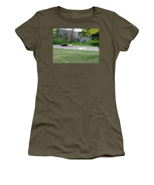 Women's T-Shirt featuring the photograph What A Day by Donald C Morgan