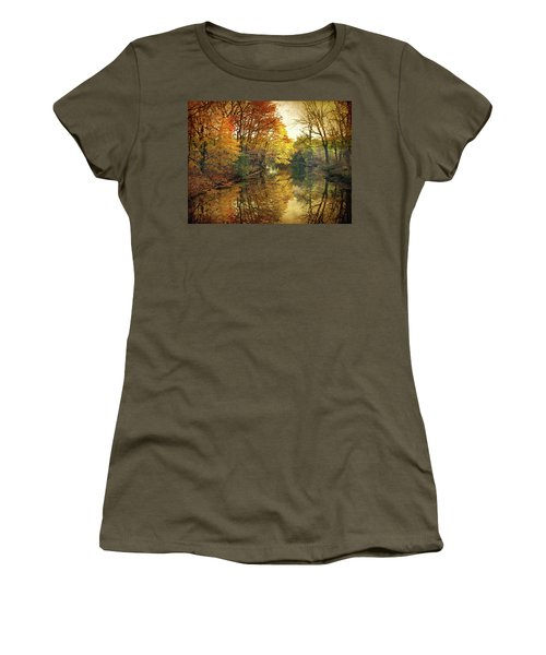 Women's T-Shirt featuring the photograph What Remains by Jessica Jenney
