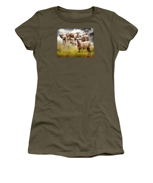 What You Lookin' At? Women's T-Shirt (Athletic Fit)