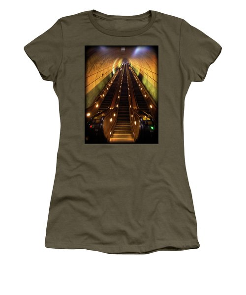 Wheaton Escalator Women's T-Shirt (Athletic Fit)