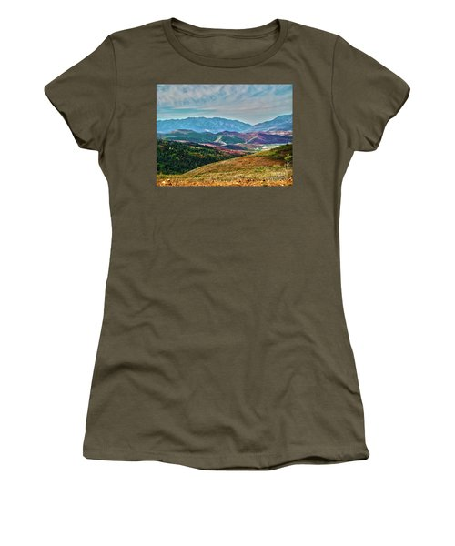 Wheeler Peak Women's T-Shirt (Athletic Fit)