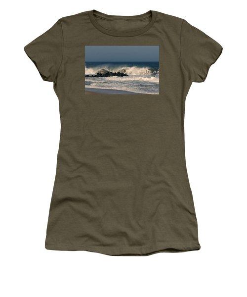 When The Ocean Speaks - Jersey Shore Women's T-Shirt