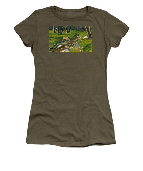 Where The Buck Stops Women's T-Shirt