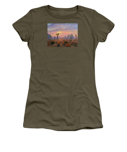Where The Sun Sets Women's T-Shirt (Athletic Fit)
