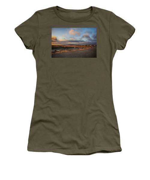 Women's T-Shirt featuring the photograph Where The Years Behind Are Piled Up High by Laurie Search