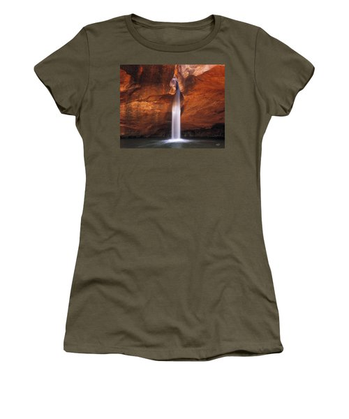 White Canyons Women's T-Shirt (Athletic Fit)