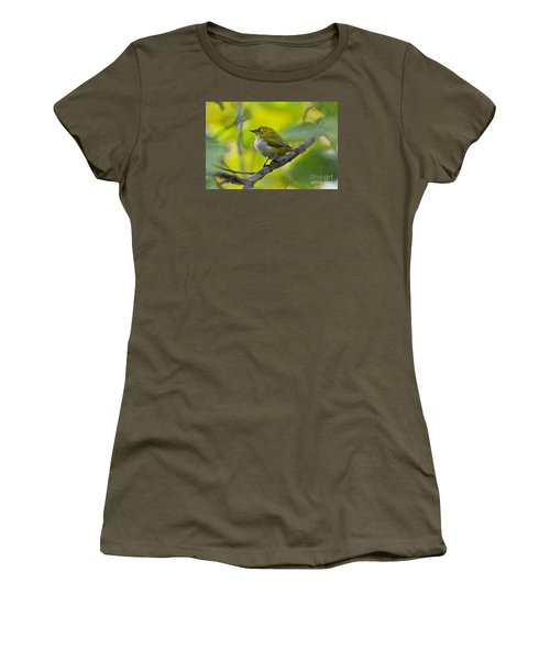 White Eye 1 Women's T-Shirt (Athletic Fit)