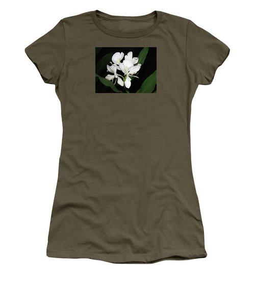 White Ginger Women's T-Shirt (Junior Cut) by Phyllis Beiser