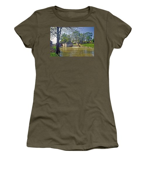 Whitewater Canal Metamora Indiana Women's T-Shirt