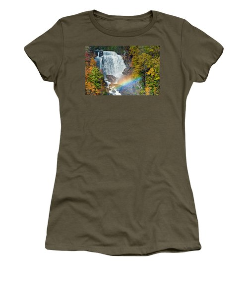 Whitewater Falls Women's T-Shirt (Athletic Fit)