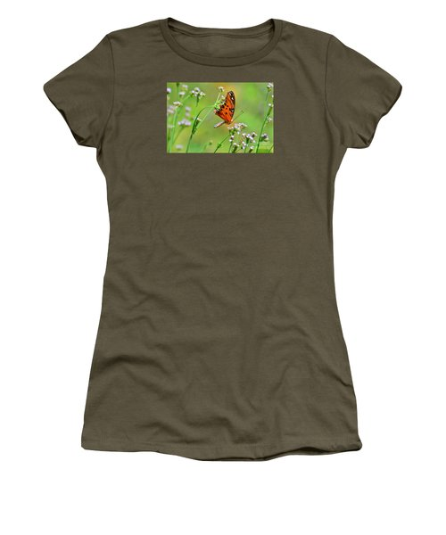 Women's T-Shirt (Junior Cut) featuring the photograph Whoops by Kathy Gibbons
