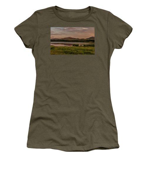 Wichita Mountains Women's T-Shirt (Athletic Fit)