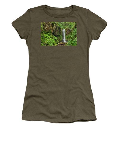 Wiesendanger Falls Women's T-Shirt (Athletic Fit)