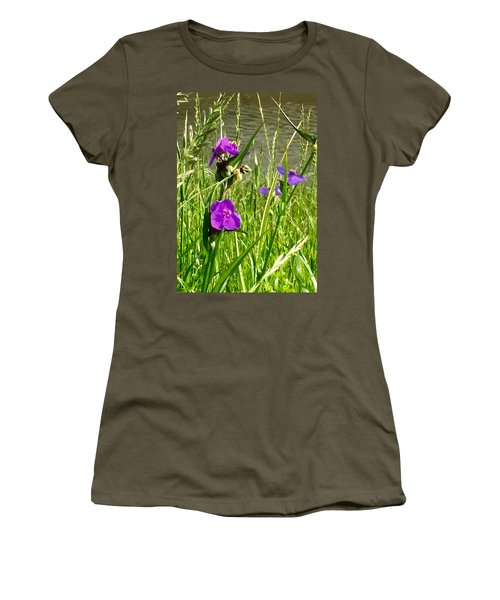 Wild About Violet Women's T-Shirt (Athletic Fit)