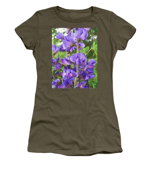 Wild Blue False Indigo Women's T-Shirt