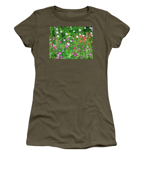 Wild Color Patch Women's T-Shirt
