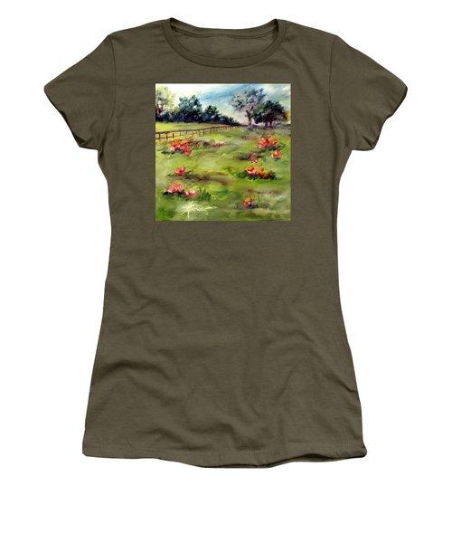 Texas Wild Flower Road Trip  Women's T-Shirt