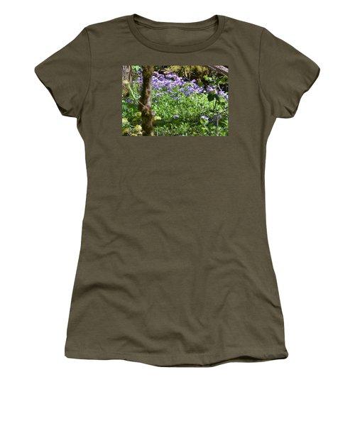Wild Flowers On A Hike Women's T-Shirt