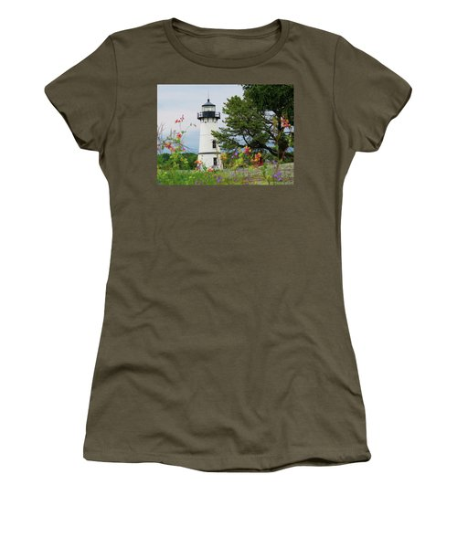 Wild Flowers On Rock Island Women's T-Shirt