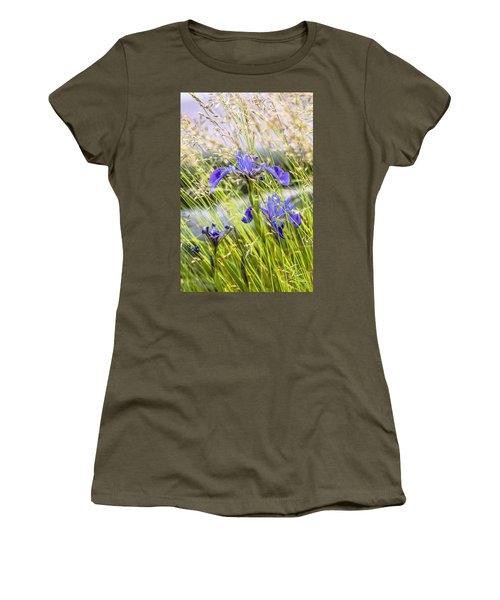 Wild Irises Women's T-Shirt (Athletic Fit)