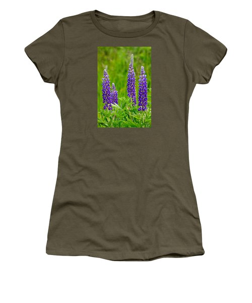 Wild Lupine Women's T-Shirt (Athletic Fit)
