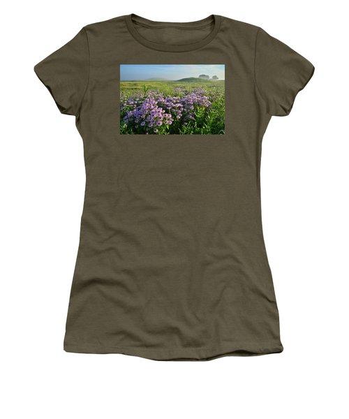 Wild Mints Galore In Glacial Park Women's T-Shirt