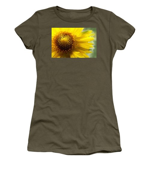Wild Sunflower Up Close Women's T-Shirt