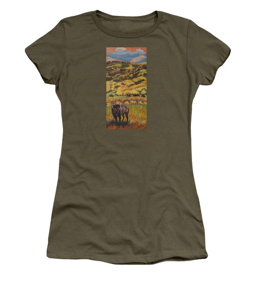 Wild West Splendor Women's T-Shirt (Athletic Fit)