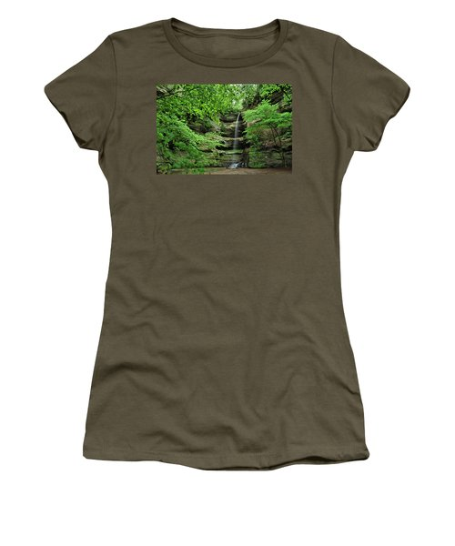 Wildcat Canyon Falls Women's T-Shirt (Athletic Fit)