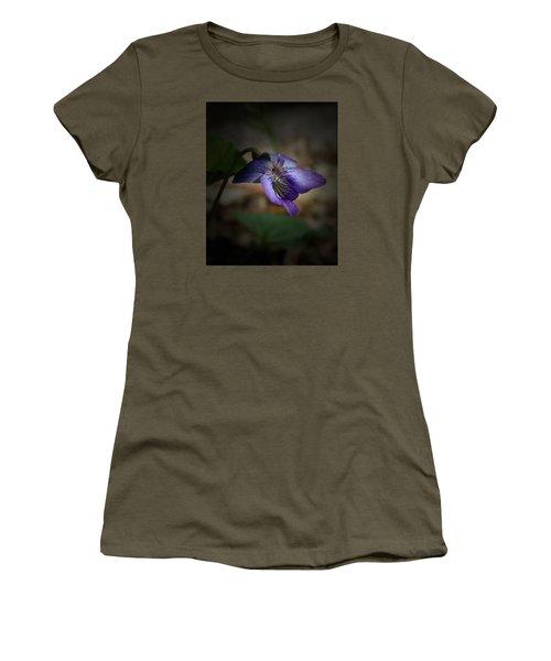 Women's T-Shirt (Junior Cut) featuring the photograph Wildflower by Karen Harrison