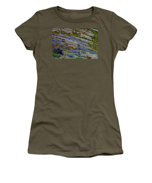 Wildflowers Women's T-Shirt (Junior Cut) by Ansel Price