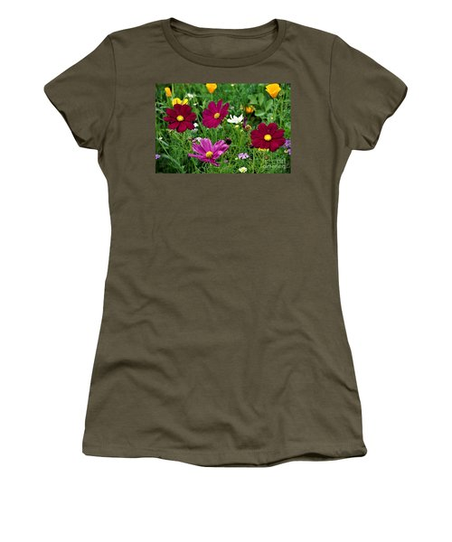Wildflowers Women's T-Shirt (Athletic Fit)