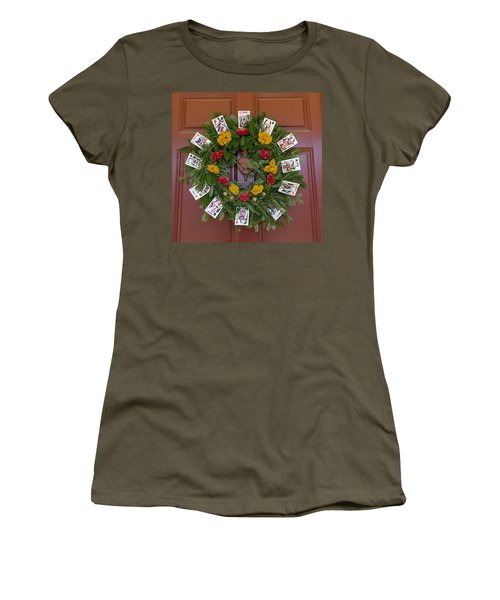 Williamsburg Wreath 56 Women's T-Shirt