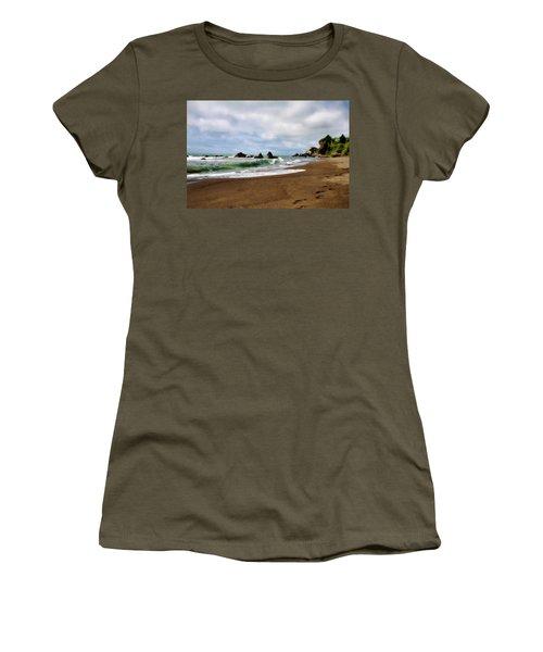 Wilson Creek Beach Women's T-Shirt (Junior Cut)