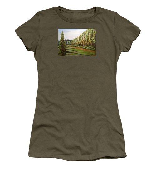 Windbreak Evening Women's T-Shirt
