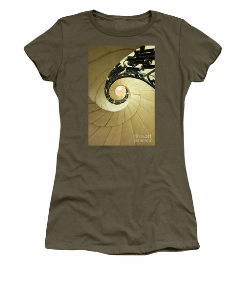 Winding Staircase. France. Europe. Women's T-Shirt