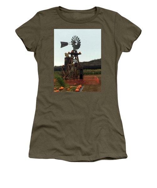 Windmill Women's T-Shirt (Junior Cut) by Enzie Shahmiri